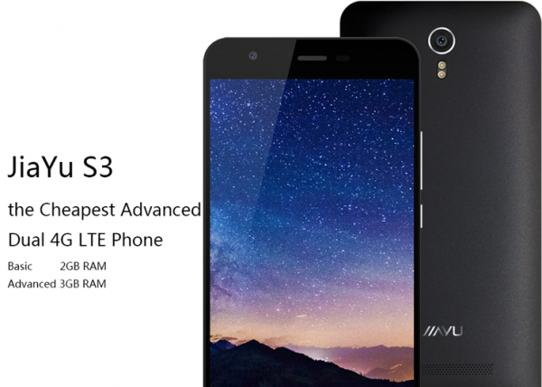 JiaYu S3 — флагманские характеристики за 145 долларов