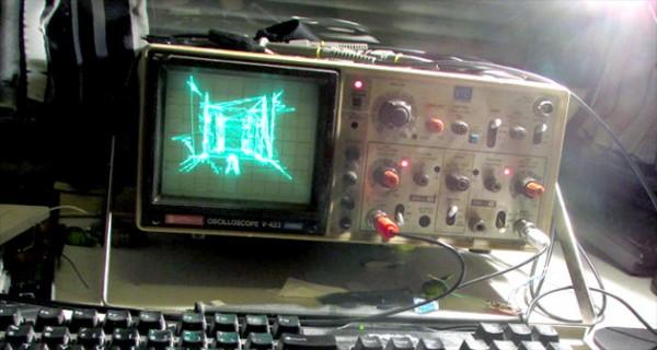 Первый Quake запустили на осциллографе
