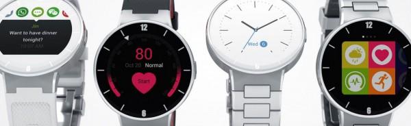 Alcatel OneTouch Watch — умные часы с круглым экраном