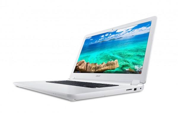 Acer выпустит 15,6-дюймовый хромбук