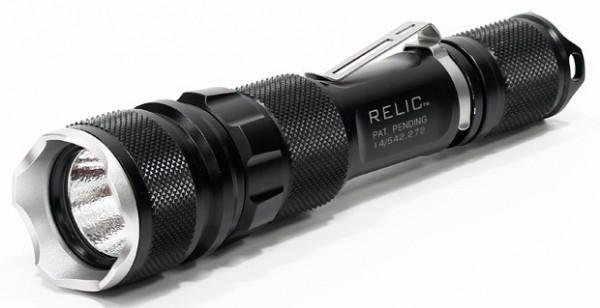 Zerohour Relic XR — фонарик с аккумулятором