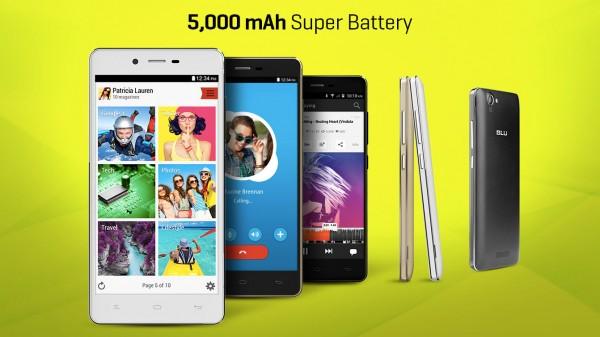 Смартфон Blu Studio Energy: 5000 мАч за 179 долларов