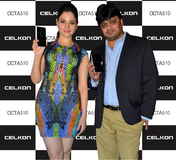 Celkon OCTA510: недорогой 8-ядерный смартфон из Индии