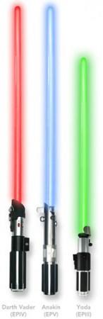 Световые мечи в стиле Star Wars