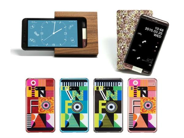 Kyocera INFORBAR A03: японский смартфон с необычным дизайном