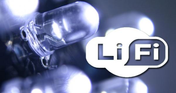 Li-Fi: «вайфай через лампочку»