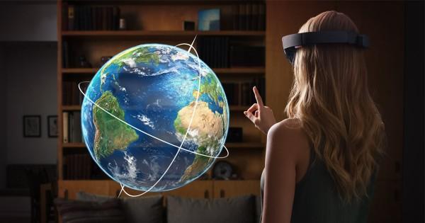 HoloLens — дополненная реальность от Microsoft