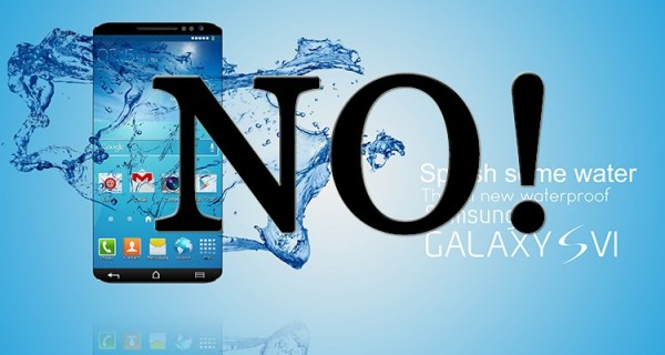 Samsung лишила Galaxy S6 защиты от воды?