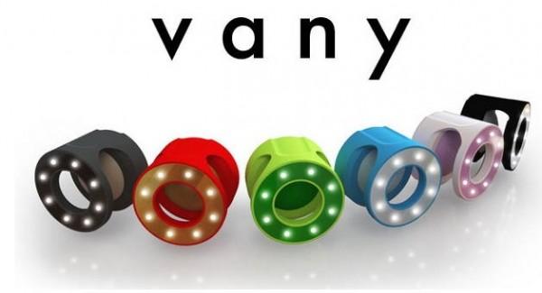 Vany — профессиональная подсветка для селфи