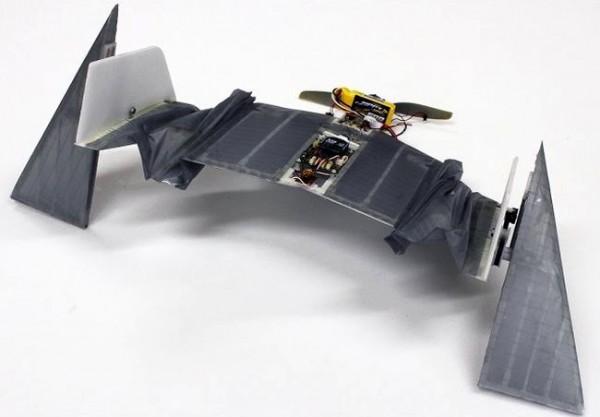 DALER — дрон, умеющий не только летать, но и ходить