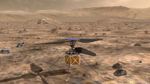 NASA отправит на Марс вертолет?