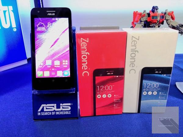 Asus представила новый бюджетник ZenFone C