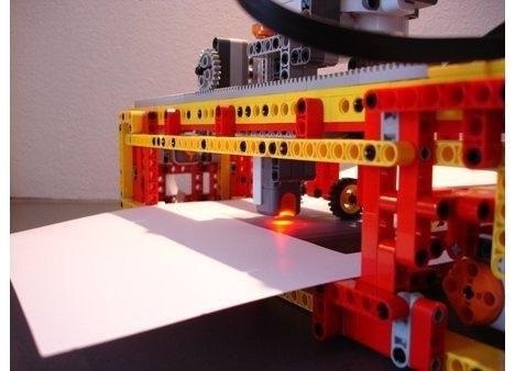 LEGO-сканнер