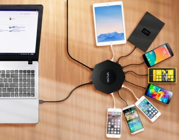 OctoFire: зарядное устройство на 8 гаджетов