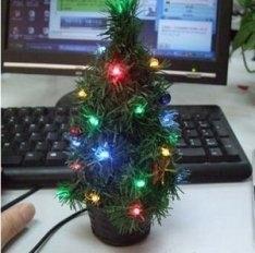 Цифровая новогодняя елка