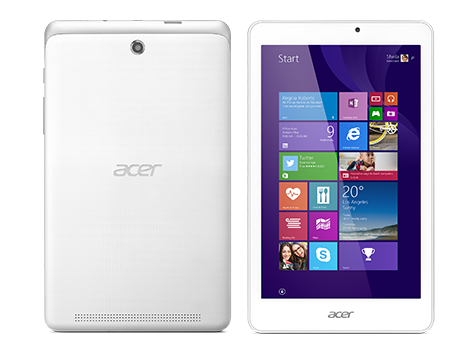 Планшет Acer Iconia Tab 8 W поступил в продажу в России