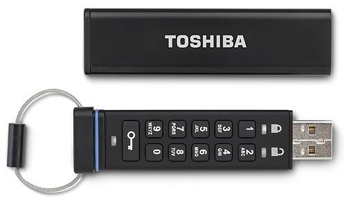 Toshiba представила флеш-накопитель с повышенной степенью защиты
