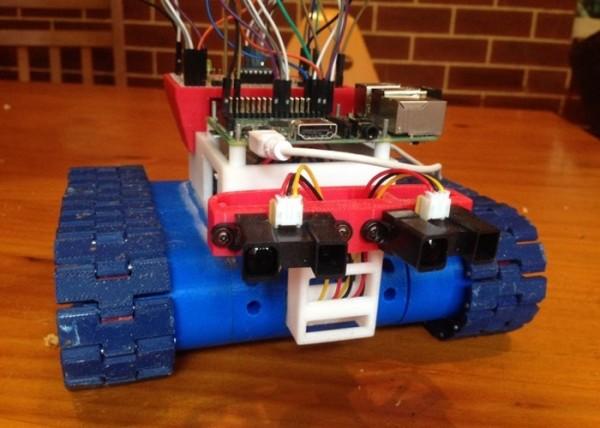 Drogerdy — маленький робот-танк на базе Raspberry Pi