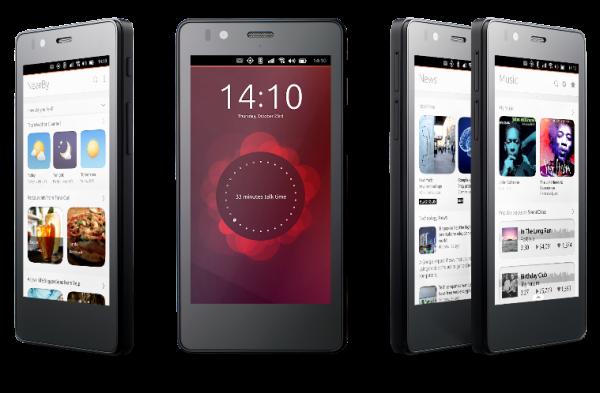 BQ Aquarius E4.5 — первый смартфон на ОС Ubuntu