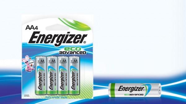 Energizer EcoAdvanced — первые «переработанные» батарейки