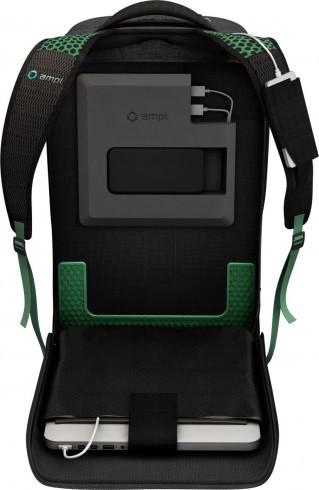Рюкзак AMPL позаботится о заряде ваших устройств в течение дня