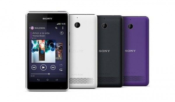 Sony Xperia E1 II — недорогой смартфон с необычным названием