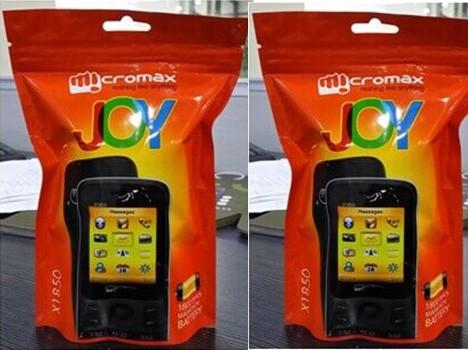 Micromax будет продавать телефоны в нестандартной упаковке