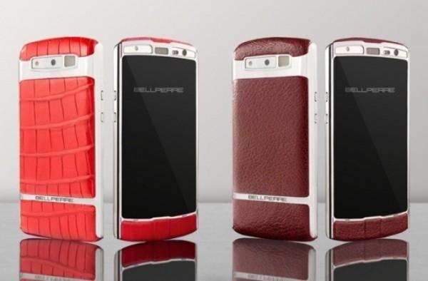 Кожа и сталь: смартфон Bellperre Touch бросает вызов Vertu