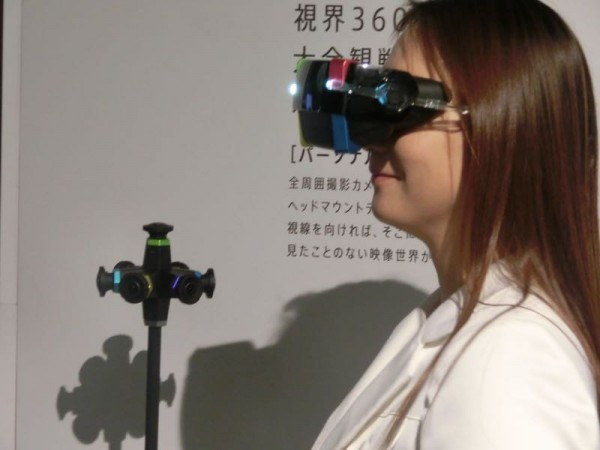 Panasonic создала очки виртуальной реальности