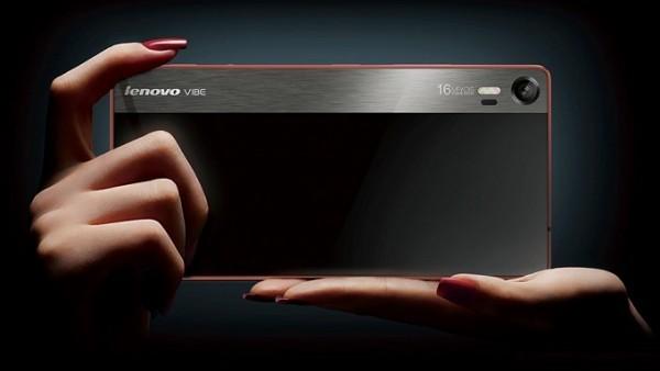 Lenovo Vibe Shot — металлический смартфон с камерой на 16 МП