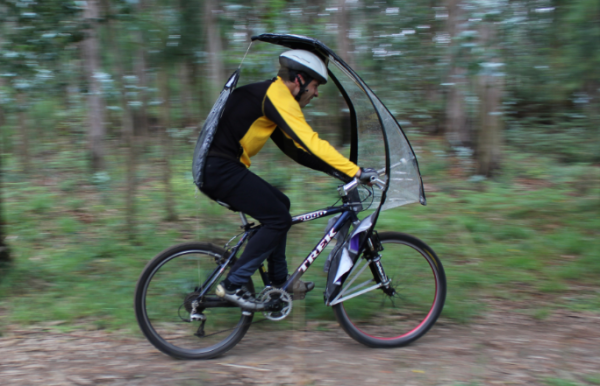 LeafxPro: зонтик для велосипеда