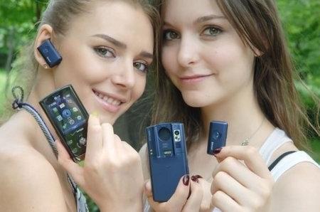 LG Decoy (VX8610) – телефон со съемной Bluetooth-гарнитурой