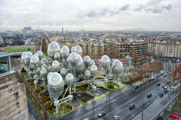 Корейские архитекторы изобрели воздушный Париж