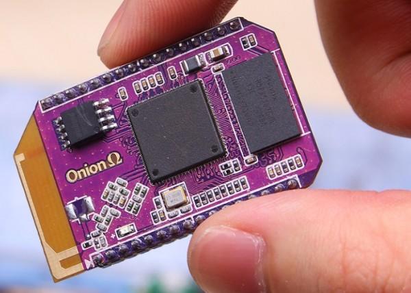 Onion Omega — миниатюрный компьютер для «Интернета вещей»