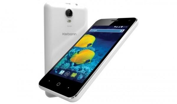 Karbonn S15 — очень бюджетный смартфон из Индии