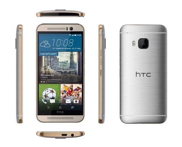 Ритейлеры показали в подробностях ожидаемый флагман HTC One M9