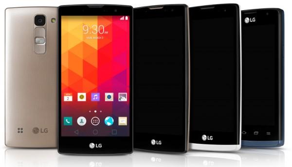 LG анонсировала сразу четыре новых смартфона