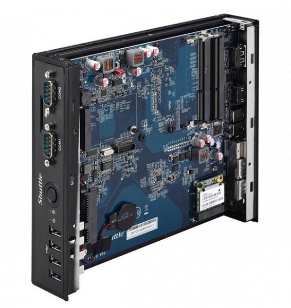 Shuttle DS57U — миниатюрный ПК на базе Intel Broadwell