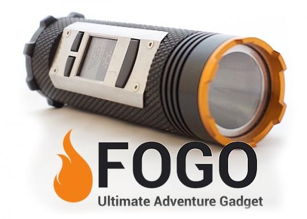 Фонарик Fogo предлагает GPS, портативную батарею и рацию