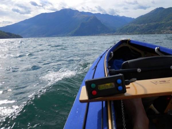 Klepper E-Kayak: байдарка с электродвигателем на солнечных батареях