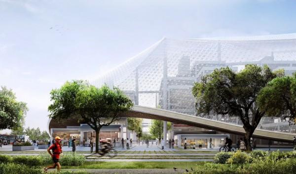 Новая штаб-квартира Google будет фантастической