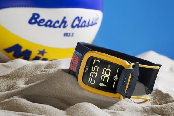 Swatch Touch Zero One — «умные» часы для фанатов пляжного волейбола