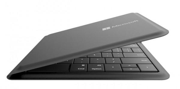 Microsoft представила универсальную складную клавиатуру