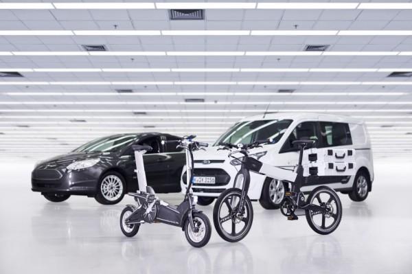Ford создала «умные» велосипеды для быстрого перемещения по городу