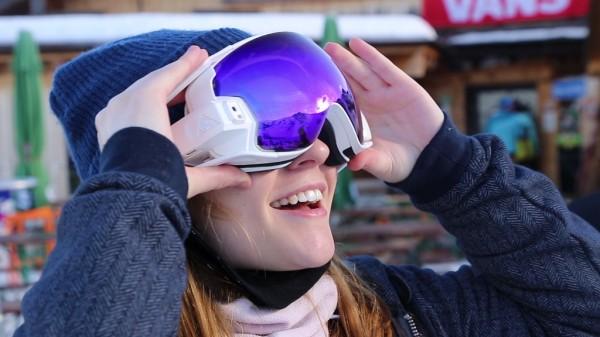 RideOn: очки дополненной реальности для горнолыжников