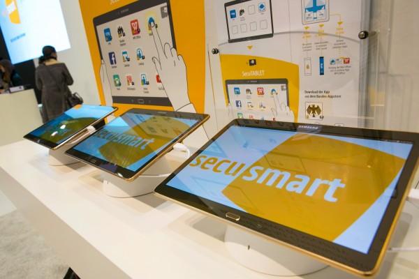 BlackBerry, Samsung и IBM создают «таблетку» с защитой от взлома