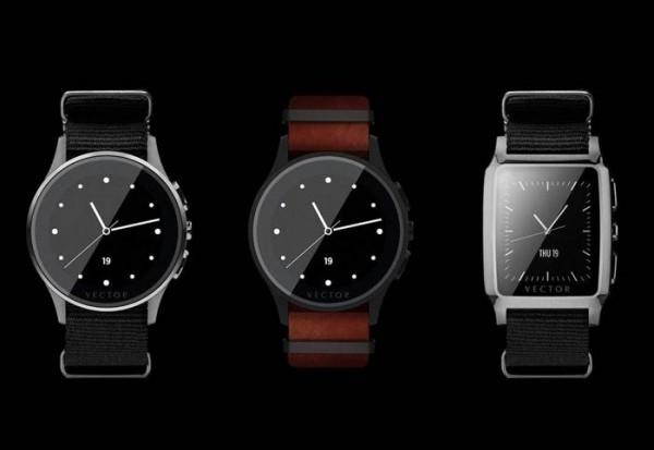 Смарт-часы Vector Watch работают месяц без подзарядки
