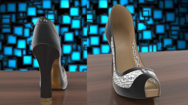 «Умные» туфли для женщин Volvorii Timeless меняют цвет