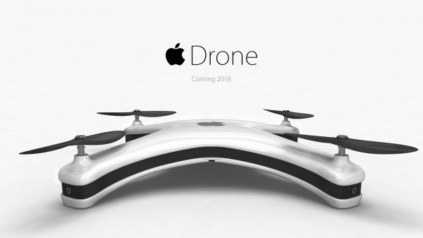 Apple Drone — «яблочный» квадракоптер