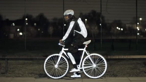 LifePaint — светоотражающий спрей для велосипедистов